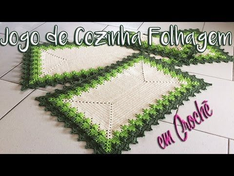 Neila Dalla Costa - Jogo de Cozinha Folhagem - YouTube