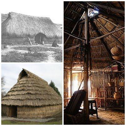 Información Pueblo Mapuche: Vivienda y organización Familiar Mapuche