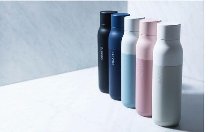 QUARTZ Bottle - Water Purification in a Self-Cleaning Bottle by Justin Wang — Kickstarter