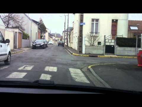 Comment franchir un rond-point ( Giratoire ) ? #5 - YouTube