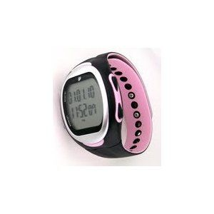 GSI Women's Waterproof Exercise Monitor Wrist Watch With Data Memory..Useful when working out..