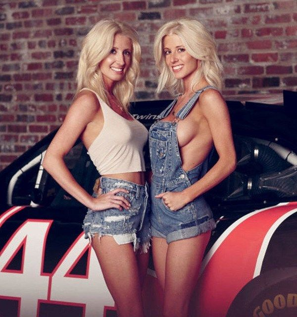 These blonde bombshells were the first twins to ever compete in a top-level NASCAR event. Angela Cope actually finished in 55th place in the NASCAR Nationwide Series points standings in 2011, but her sister Amber did not fare nearly as well.