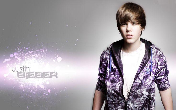 My first attempt at a JB Wallpaper. - Justin Bieber