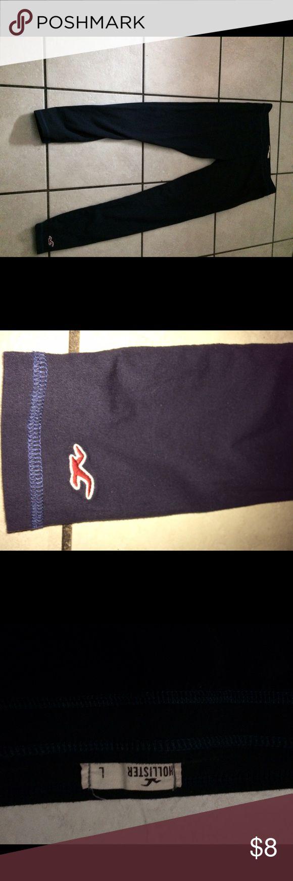 Hollister Leggings (Navy Blue) Hollister Navy Blue Leggings , gently worn. Hollister Pants Leggings