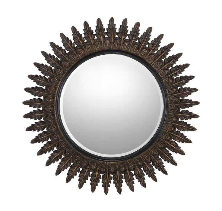 34 Inch Round Mirror Part - 31: 113 Best Mirrors Images On Pinterest | Mirror Mirror, Wall Mirrors And  Decorative Mirrors