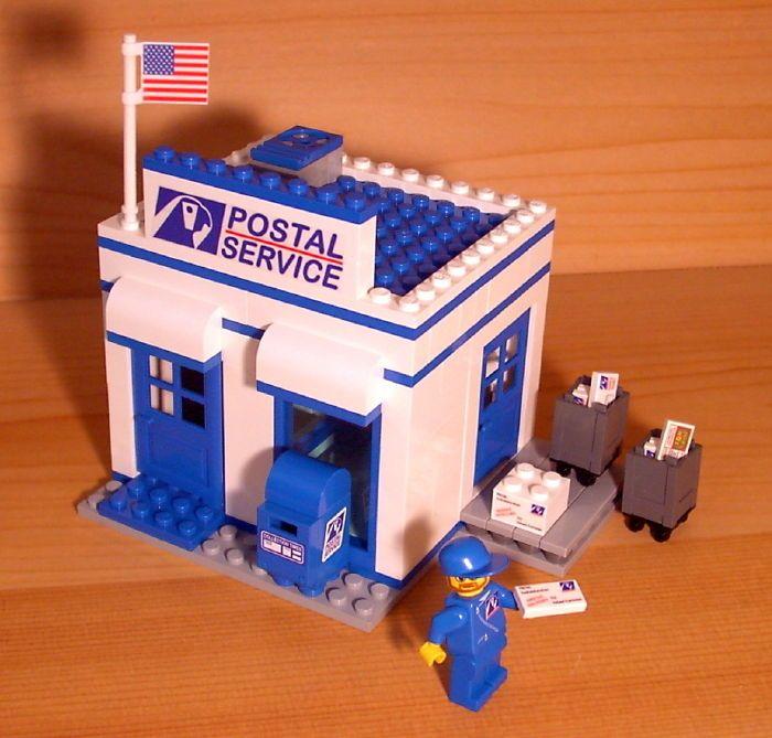 Dadventuredan's Custom почтовое отделение для лего город город почтовая служба почты набор | Игрушки и хобби, Конструкторы, Конструкторы LEGO | eBay!