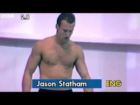 Watch a Young Jason Statham (With Hair) in a Speedo, Dive for England - The Moviefone Blog