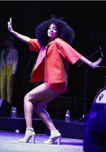 Styled Solange Knowles for Coachella 2014