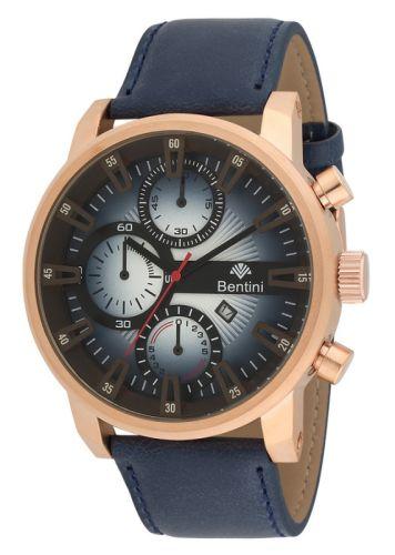 Ρολόι ανδρικό με δερμάτινο λουράκι Bentini 15K07