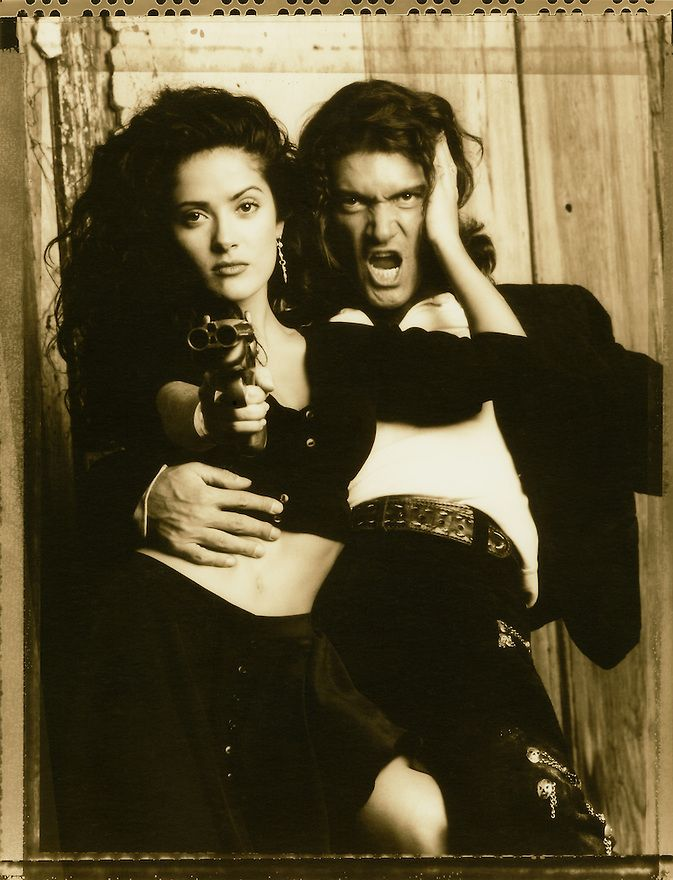 Selma Hayek and Antonio Banderas-Desperado