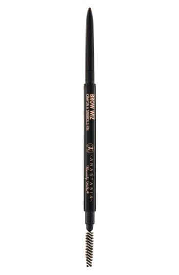 Free shipping and returns on Anastasia Beverly Hills Brow Wiz Mechanical Brow Pencil at Nordstrom.com. What it is: An ultraslim mechanical pencil.What it does: It shapes, defines and fills in your brows for a polished look. Includes a spool brush to easily blend for a natural look.Pro tips: For optimal results, use short strokes and a light touch to fill in the brow, and extend where needed. Always blend pencil with the brow comb for even color
