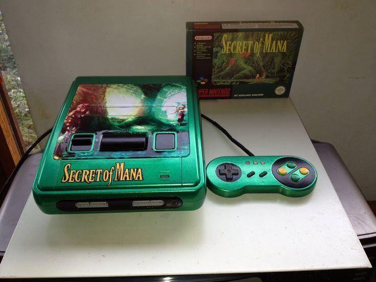 Custom Painted Secret of Mana SNES