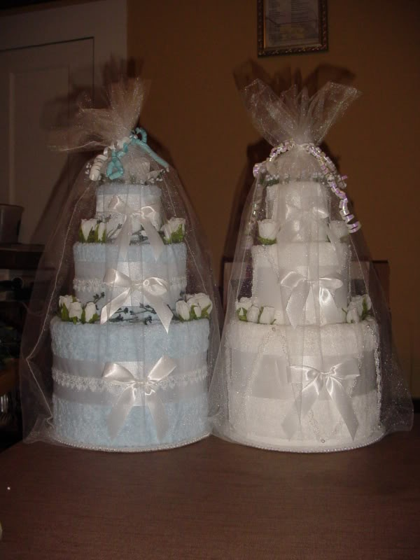 Wedding Towel Cake | ... View topic - Pictures/Instructions: Dawn Lynne's Towel Wedding Cakes
