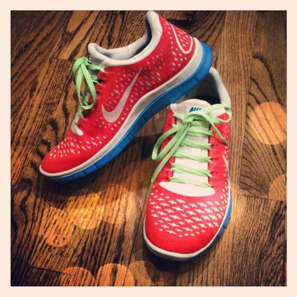 Nike ID Free Run Sneakers in custom colors