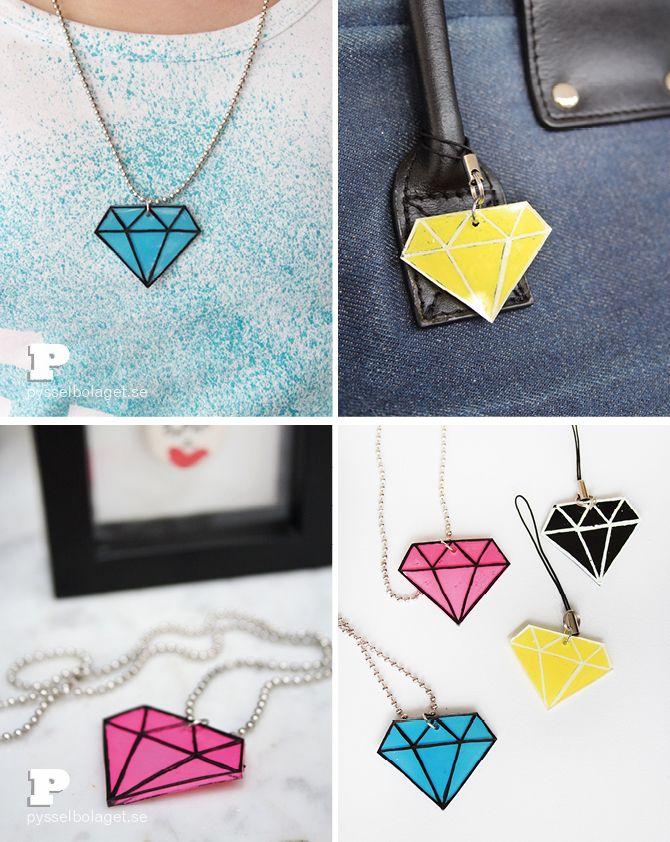 Vi lyxar med krympplast diamanter! - Pysselbolaget