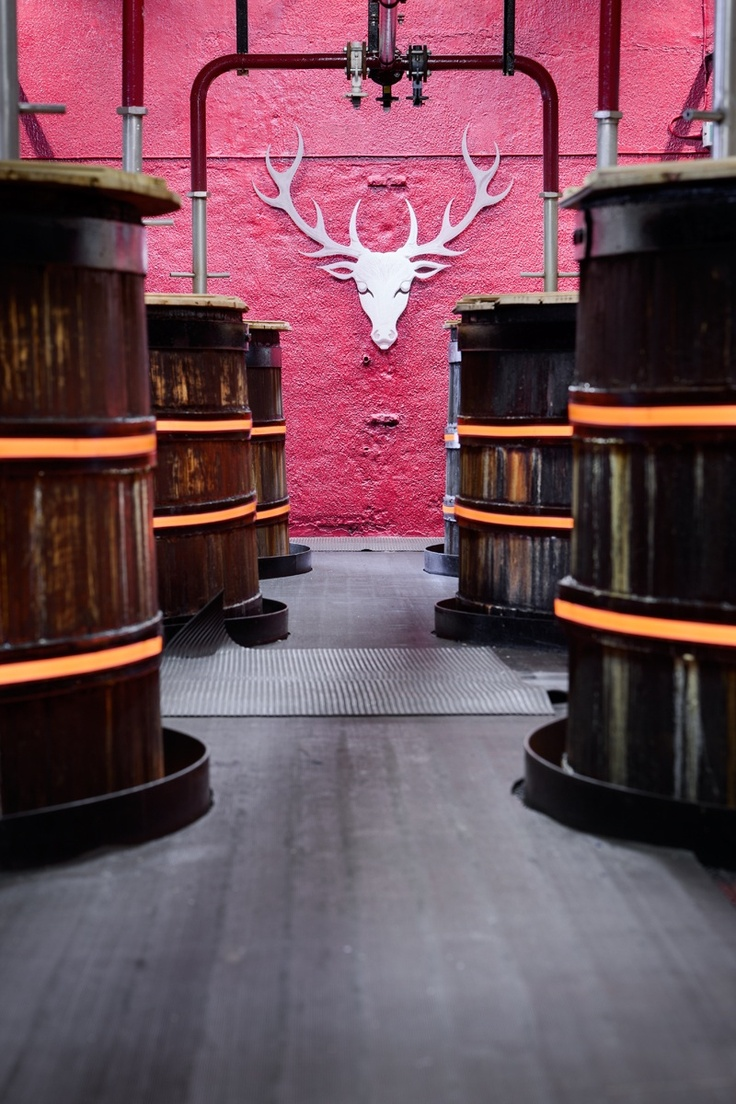 The Dalmore Distillery - The Washbacks, Scotland - www.jamstudio.uk.com