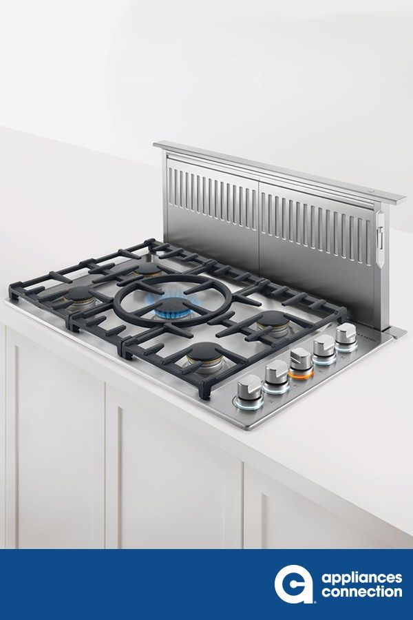 Contemporary Series 36 Inch Natural Gas Cooktop With 5 Sealed