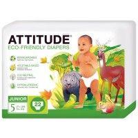 Ekologiska blöjor, Junior från 12 kg - Attitude