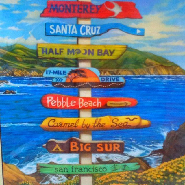 Monterey, Santa Cruz, Half Moon Bay, 17 Mile Drive, Pebble Beach, Carmel by the Sea, Big Sur, San Francisco - All amazing!