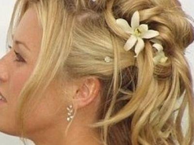 Pettinatura per le nozze: diverse opzioni a seconda del tipo di capelli
