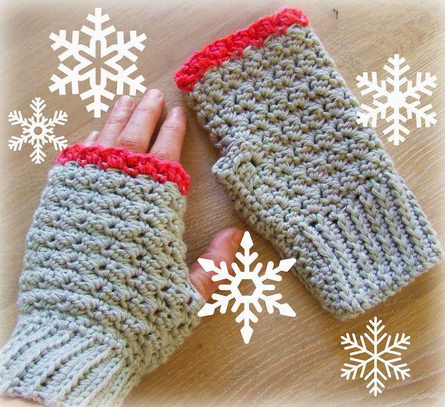 wristwarmers - crochet