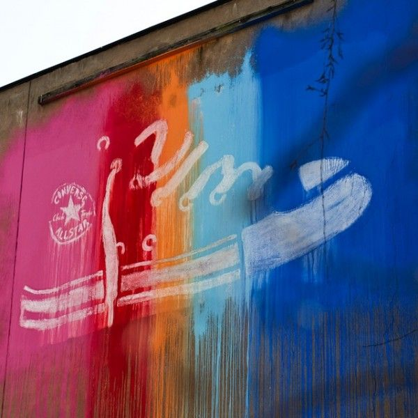 Converse et Street-Art