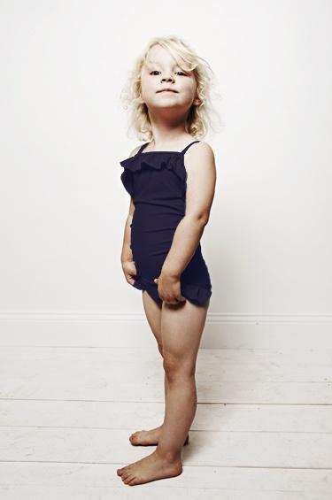 Draped Swim Suit from Mini Rodini