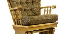 EHow to Reupholster a Glider Rocker Cushion                                                                                                                                                                                 More