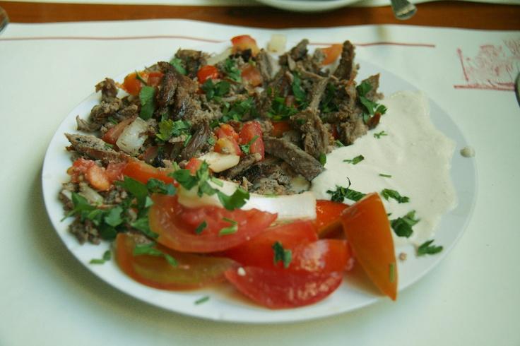 Kebab turco - Turquía