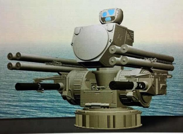 The Pantsir-M is based on the land based Pantsir-S1, but has a different artillery system- as can be seen on the above pictures, including two GSh-6-30K / AO-18KD 30mm six-barrel guns as found on the Kasthtan CIWS. Pantsir-M also comes with an additional radar system, separate from the one fitted ontop of the turret itself.  The land based Pantsir-S1, produced by Russia's KBP is a gun-missile system combining a wheeled vehicle mounting a fire-control radar and electro-optical sensor, two…
