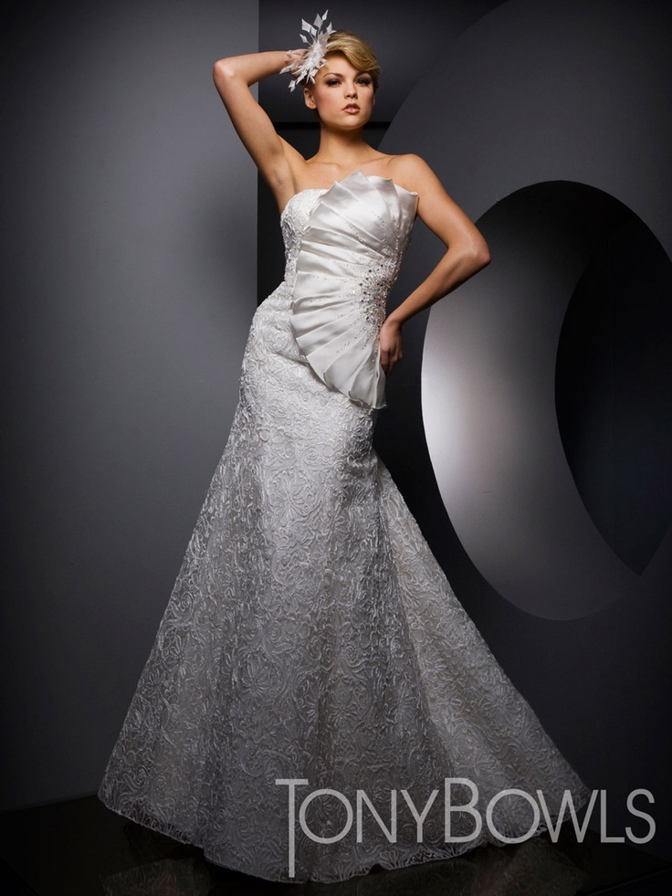 210W52 Tony Bowls Whites Shopusabridal.com by Bridal Warehouse - Bridal, Prom, Quinceanera, Special Occasion