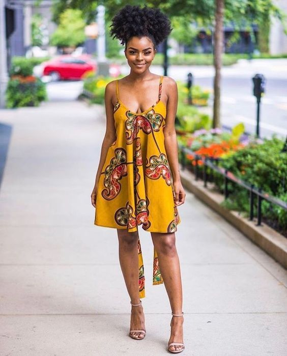 Style de robe africaine chic
