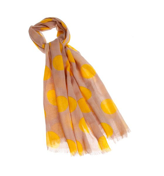 Sjaal met stippen #Scarf #Polkadot #Wool #Gigue #AW16 #FallCollection #NewArrivals #GigueAW16
