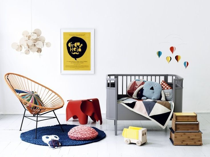 Eames Elefant Chair Rot - POPfurniture.com