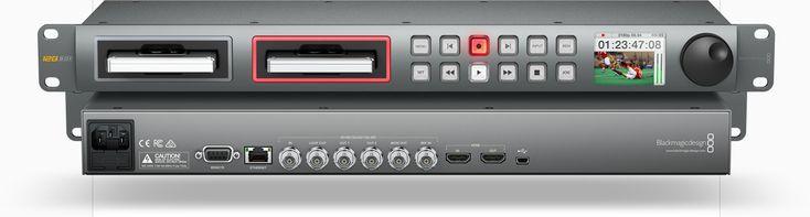 Sostituisci i tuoi deck di vecchia data Registrazione video di qualità broadcast a 10 bit  HyperDeck Studio è la soluzione moderna per i tuoi deck obsoleti. Con le stesse funzionalità e controllo dei deck professionali, avrai il vantaggio di potere registrare video direttamente in qualità non compressa, o nei formati standard ProRes e DNxHD in uso negli ambienti professionali. Collega le tue videocamere, switcher, o qualsiasi altro feed video ad HyperDeck Studio