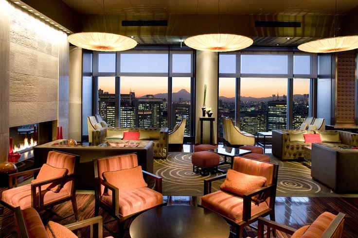 Tokyo   Bars with great views   Located on the 38th floor of the Mandarin Oriental hotel is this comfy lounge that boasts stunning city views.