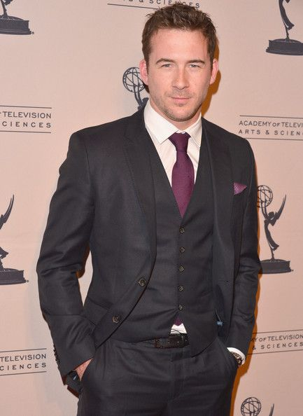 Barry Sloane - he's good looking, he's in a suit, and he's British. I'm pretty ok with all of that ;)