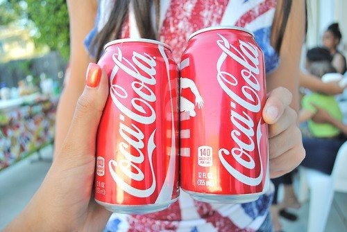 QOTD: Coca-Cola or Pepsi?! || AOTD: Coca-Cola!! I don't really drink pop (or soda, whatever you call it) but Coke is one of my favorites!