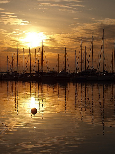 Sunset reflection - Thessaloniki - #Greece