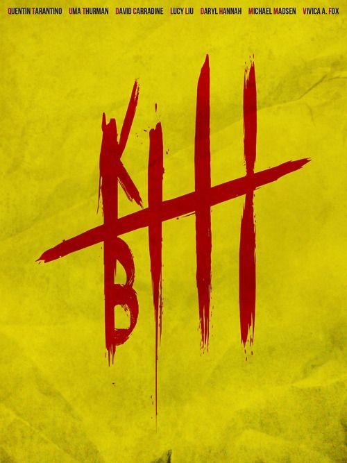 Kill Bill: Minimalist Posters, Quentin Tarantino, Kill Bill, Quentintarantino, Posters Design, Graphics Design, Film Posters, Killbill, Minimal Movie Posters
