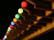 20 LED Solar Chinese Lantern String Lights