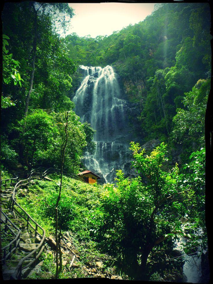 temurun waterfall in langkawi island (: