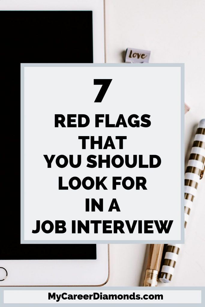 Job Interview: Do you know what red flags you shou…