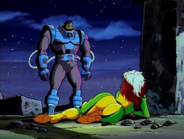 Vampira e En Sabah Nur (Apocalypse) de X-Men - The Animated Series