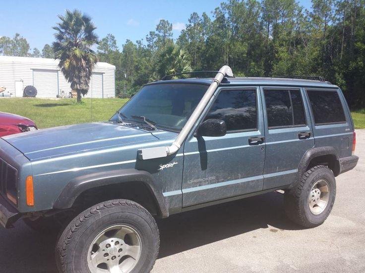 home made snorkel...... Jeep cherokee, Jeep cherokee xj