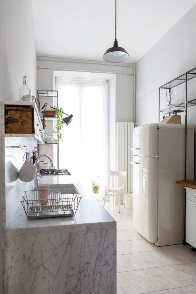 Une petite cuisine avec de jolis détails | Moltodeco