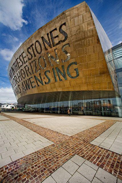 Wales Millennium Centre, Roald Dahl Plass, Cardiff Bay, South Wales, UK  - Flickr - Photo Sharing!