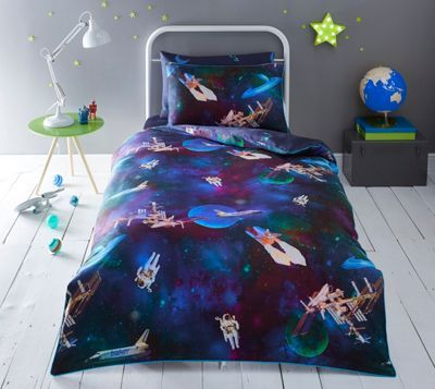 19eb8356c312 Baker by Ted Baker Multicoloured  Space  bedding set