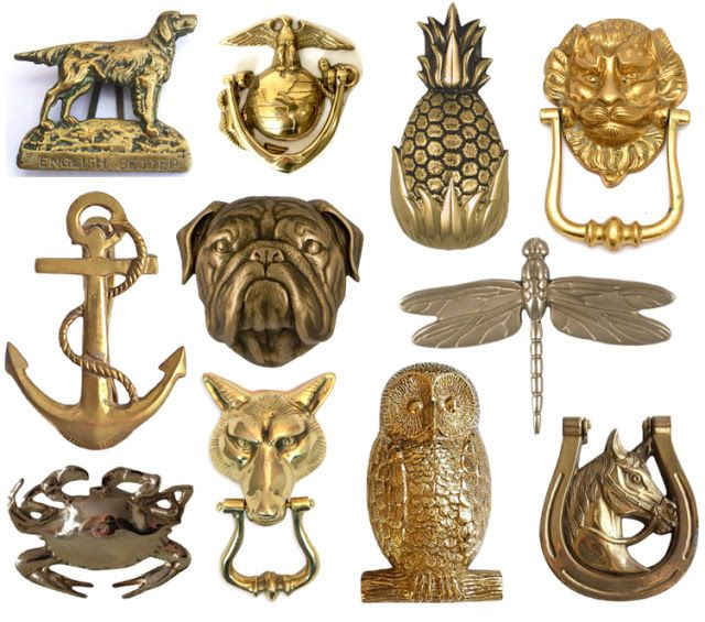 A Brass Door Knocker Round Up