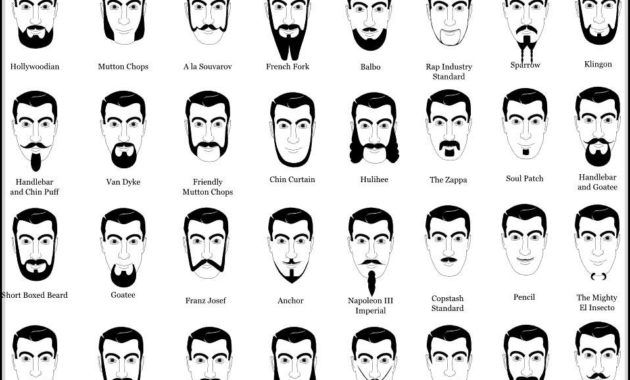 Names Of Facial Hair Styles You Need To Know In 2020 Mens Facial Hair Styles Facial Hair Hairstyle Names